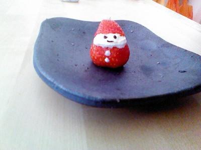 クリスマスに!いちごサンタのとっても簡単な作り方