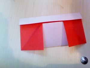 クリスマス折り紙ブーツ4