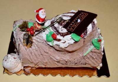 クリスマスケーキを子どもだけで♡簡単レシピ♡オーブンなし