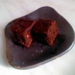 ブラウニーをホットケーキミックスで フライパンで焼く簡単な作り方