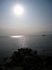 春のびわ湖