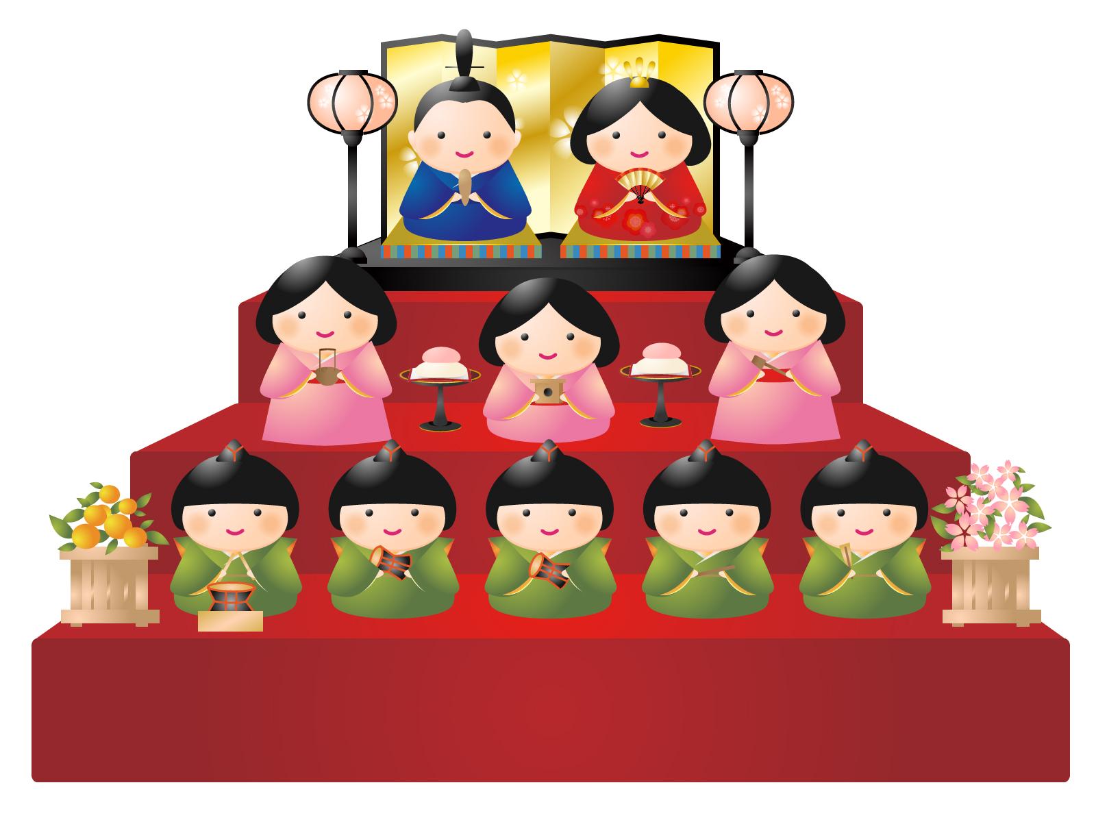ひな祭りの雛人形の由来は?片づけの時期と婚期が遅れる理由
