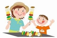 子供が喜ぶバーベキューのレシピ☆デザートや遊びはどうする?