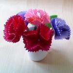 折り紙の花のプレゼントなら立体カーネーションを手作りで♪花言葉は?