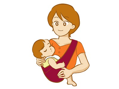 赤ちゃんの予防接種へは抱っこ紐?荷物のまとめ方と服装について