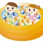 赤ちゃんの水遊びはいつから?どんな格好がいい?喜ぶおもちゃって?