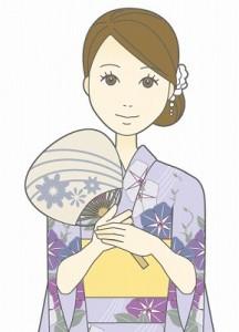 浴衣 髪型 ロング